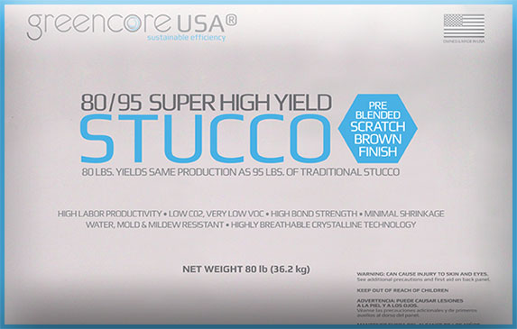 Super High Yield Stucco